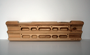 Metolius wood finger training board.